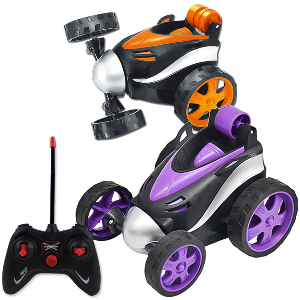 Super Stunt Dancing RC Car Tumbling Electric Controlled Mini Car Funny Rolling Rotating Wheel Vehicle Toys For Birthday Gifts