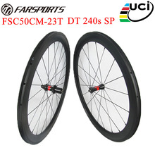Light weight DT 240s hubs carbon wheelset 50mm 23mm carbon racing bike wheels 20H 24H with