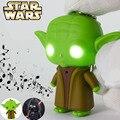Juguetes Darth Vader Star wars Yoda Anakin Skywalker con el sonido y Led Flashlight figura de acción maestro Jedi llavero Light Up de los juguetes