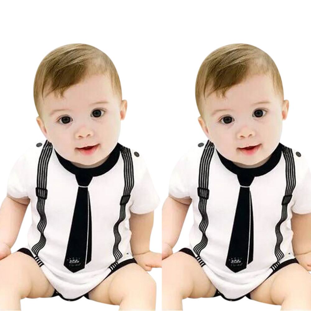Baby Boy Girls Toddler Romper Infant Kids Spring Autumn Print Striped Clothes Casual Romper Playsuit Jumpsuit 30