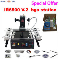 Promotion Price Low Cost LY IR6500 V 2 Machine Infrared Bga Rework Station With Bigger Preheat