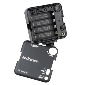 Image 5 - Godox LED64 wideo Panel LED lampa makrofotografii dla Canon Nikon kamery