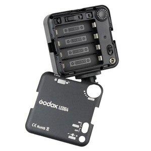 Image 5 - Godox Panel de lámpara LED de vídeo LED64, para videocámara Canon y Nikon