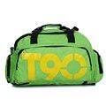 Nova marca Sacos de Homens Marca T90 Mulitifunctional À Prova D' Água Saco da bagagem & travel Bag Mochilas Duffle dos homens