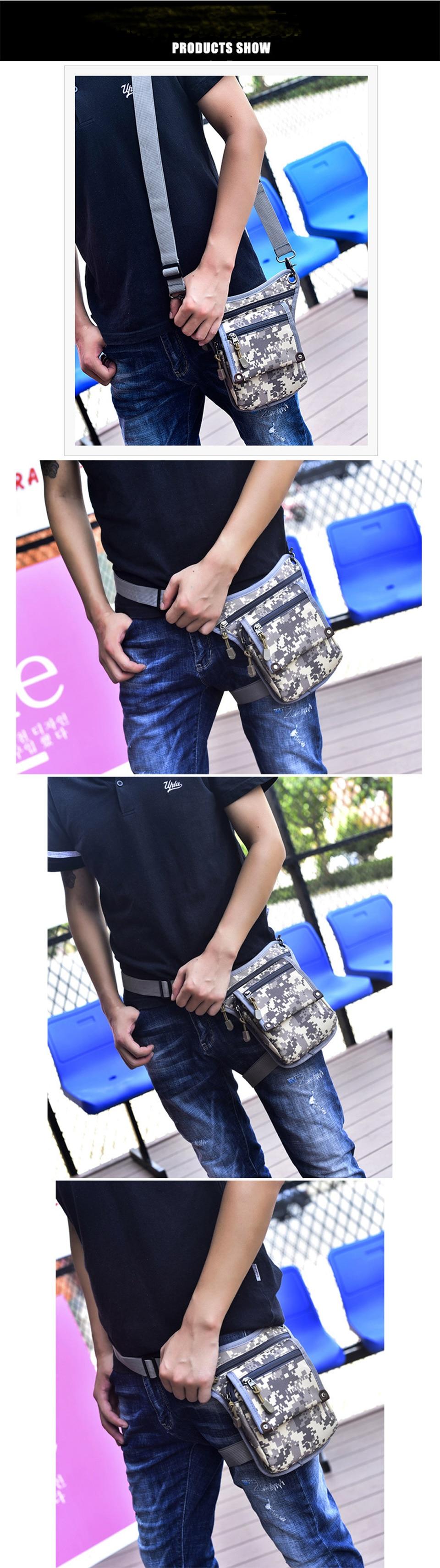 3 men's shoulder bag