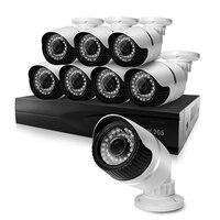 HJT H 265 5 0MP POE 4CH NVR Kit CCTV System IP Camera P2P IR IP66