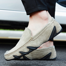 2018 New Mens Shoes Love Loafers Korean Version of The Trend Personality Casual Breathable 5