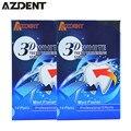2 Caixa 3D Dentes Branqueamento Dental Profissional Ultra Branco Gel Clareador de Dente Whitestrips Avançada Casa Dentes Branqueamento Tiras 28 pc