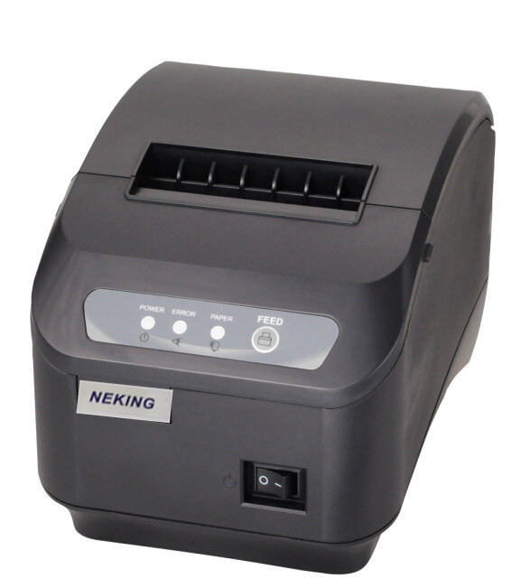 Factory outlets pos printer High quality 80mm thermal receipt printer Q200II automatic cutting USB+Serial port /Ethernet ports serial port best price 80mm desktop direct thermal printer for bill ticket receipt ocpp 802