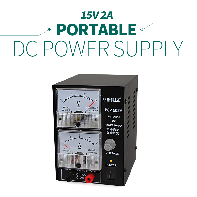 Power Supply Stable Voltage And Current Source Electrical