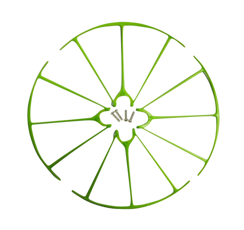 SYMA New X5H X5HC X5HW axis WIFI UAV landing gear parts green blade propeller protection ring Tripod Case Set