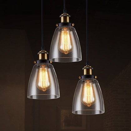 IWHD Glass Lampara Vintage Hanging Lamp Edison Style Loft Industrial Pendant Lights Living Room Bar Kitchen Lamps Hanglamp iwhd rust retro vintage pendant lights led edison style loft industrial lamp metal iron rustic hanging light lampara colgante