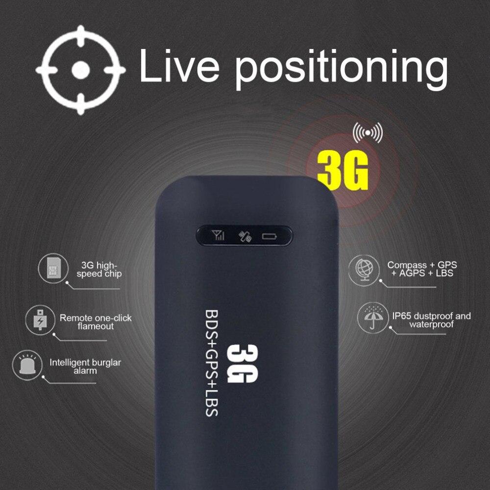 Small Size Car Styling GPS Tracker Wifi 3G WCDMA Practical Anti-Theft High Precision Real Time GPS Tracking Locator Device Black мобильный телефон apple iphone 4s 16 32 64 wcdma 3g wifi gps 8mp