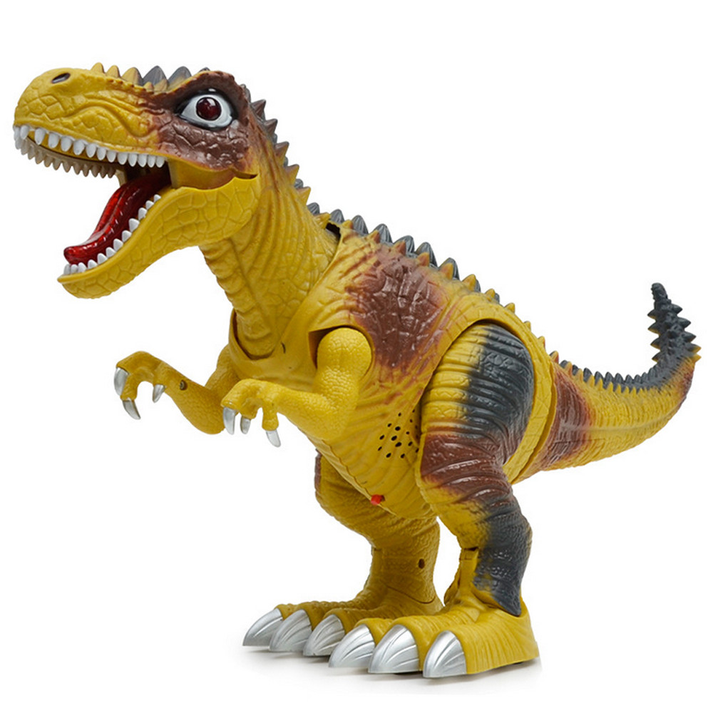 HIINST stuffed toy Kids Toy Walking Dinosaur Toy Figure With Lights & Sounds, Real Movem ...