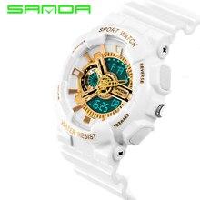 Hommes LED Numérique-montre 2016 Nouvelle Marque SANDA Montres G Style Montre Étanche Sport Choc Militaire Montres pour Hommes relojes hombre