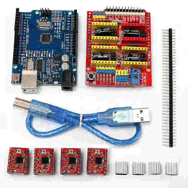 Cnc shield expansion board for arduino d printer kit
