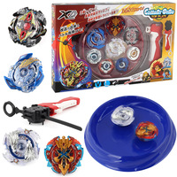2018 Hot Combination Beyblade Metal Fusion Set 4pcs Beyblades With Launchers Bayblade Arena Constellation Spinning Top