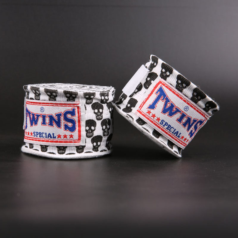 Bandages Boxing-Hand-Wraps MMA Muay-Thai TWINS Training Women 5M for Man Kid 18-Colors