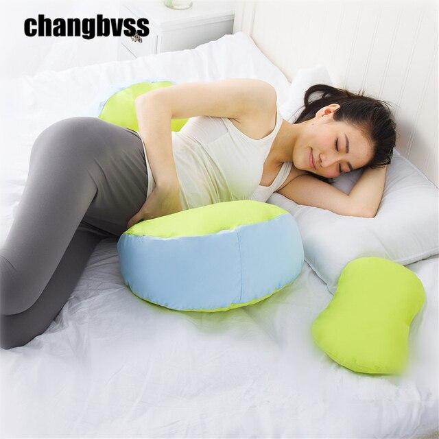 New 100% Cotton Pregnant Pillow Women Pregnancy Easy Breastfeeding Nursing U-Shape Waist Body Pillow Adjustable Body Pillows