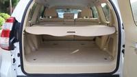 Toyota prado fj150 2010-2018 용 뒷 트렁크 그늘 베이지 카고 커버