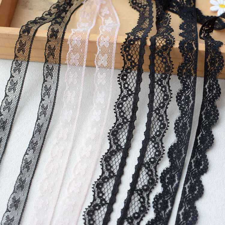 2019 Latest Lace Fabric Wedding Tulle Lace Ribbon Trim Guipure Laces Sewing Trimmings For Clothing Collar dentelle encajes LT16