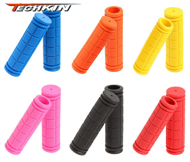 10113 colorful the Grips / rubber sets Soft Grips MTB Grips Rubber sponge bicyle bike cycling handle bar grip for  road bicycle