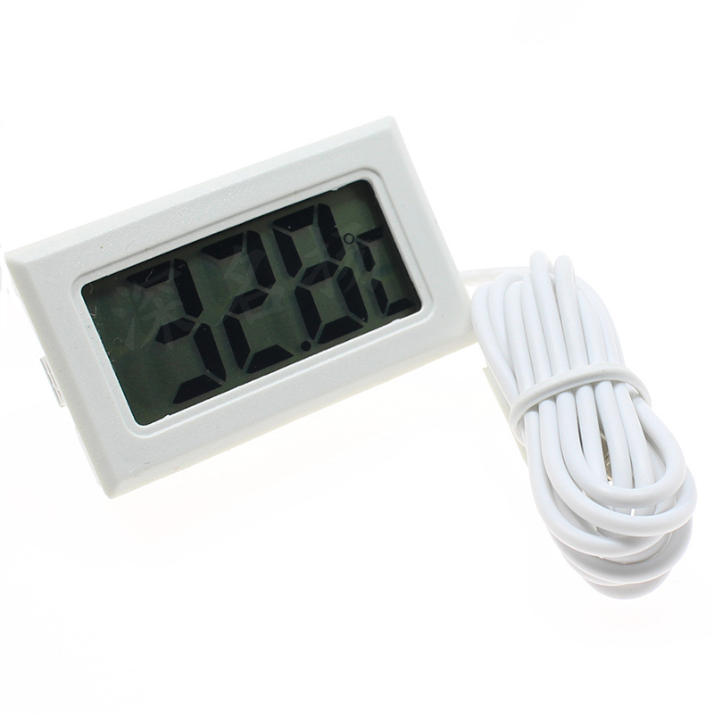 Waterproof LCD Electronic Pet Aquarium Thermometer Digital Outdoor Temperature Measure Tool With Probe Aquatic Products 1
