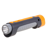 New Rechargeable Torch LED Flashlight Portable Emergency Safety Hammer Flashlight With Car Charger 2 000mAh Power