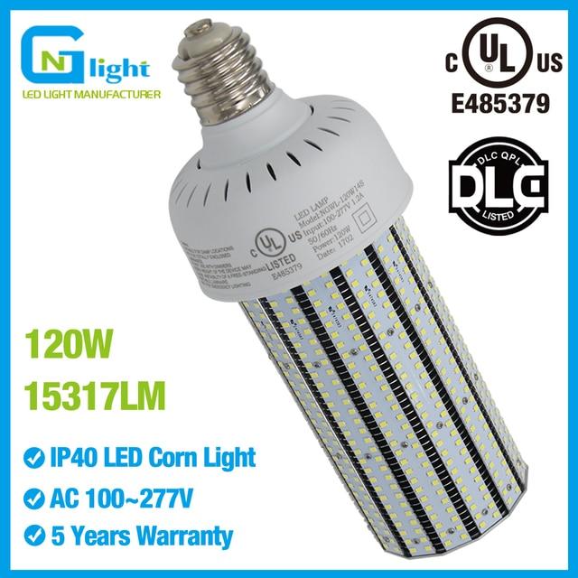 Ul E40 E39 Mogul Base Led Corn Cob 120 Watt Lights Replace
