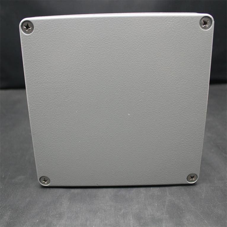 160*160*90 MM Boîtier En Aluminium Cas BRICOLAGE Boîte de Jonction Gris
