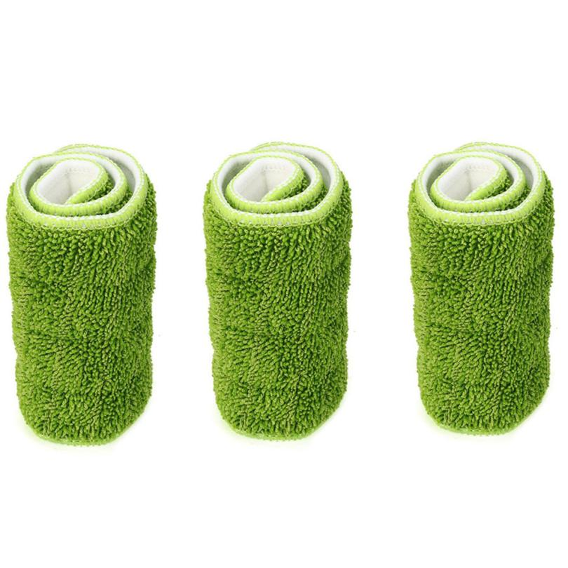 3pcs Replacement Microfiber Washable Spray Mop Dust Mop Household Mop Head Cleaning Pad Clean Strong m28