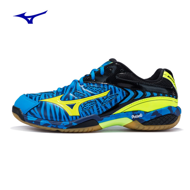 07171de2b746 2018 new arrival MIZUNO WAVE FANG SS2 badminton shoes professional sports  sneakers 71GA171047