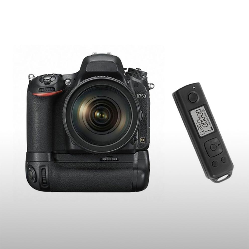 bilder für Meike mk-dr750 meike eingebaute 2,4g drahtlose steuerung batteriegriff für nikon d750 als mb-d16 wireless remote