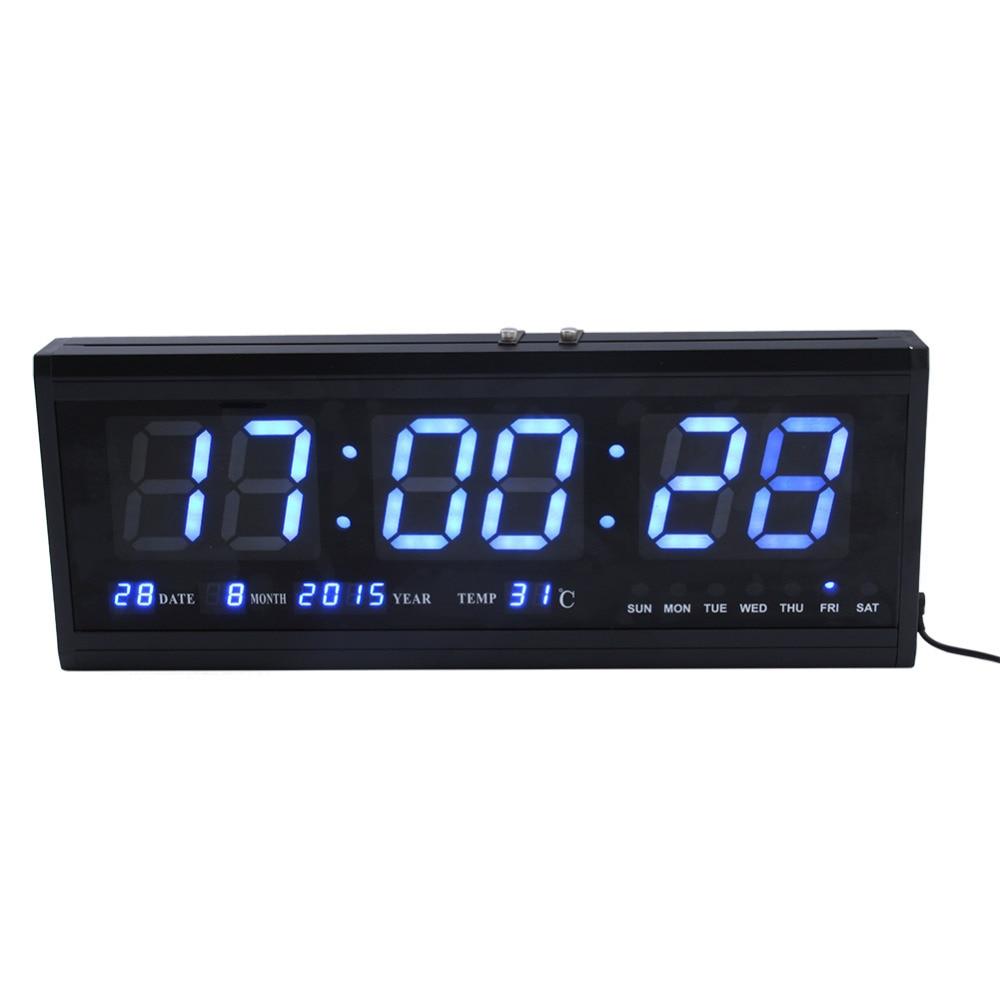 Large Of Digital Clock For Living Room