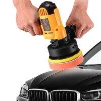 DJSona 700W Car Paint Polishing Machine 220V Auto Paint Polisher Care Tool Waxing Sealing Glaze Electric Polisher For Waxing