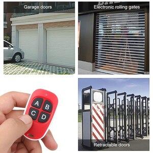 Image 2 - Kebidu 4 cores quente sem fio 433mhz controle remoto código de cópia remoto 4 canais portão clonagem elétrica porta da garagem chaveiro automático