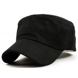 Hat Cotton Women Men Adjustable cap Unisex Solid Baseball caps Classic Plain Vintage Travel Sport Military Cadet Hat(China)