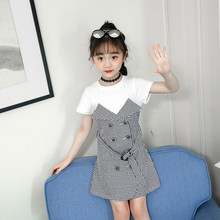 Get more info on the New Fashion False Two Piece Girls Dresses 2019 Plaid New Year Princess Dresses Clothing for Toddler Girl Kids Wear 4-13 Age