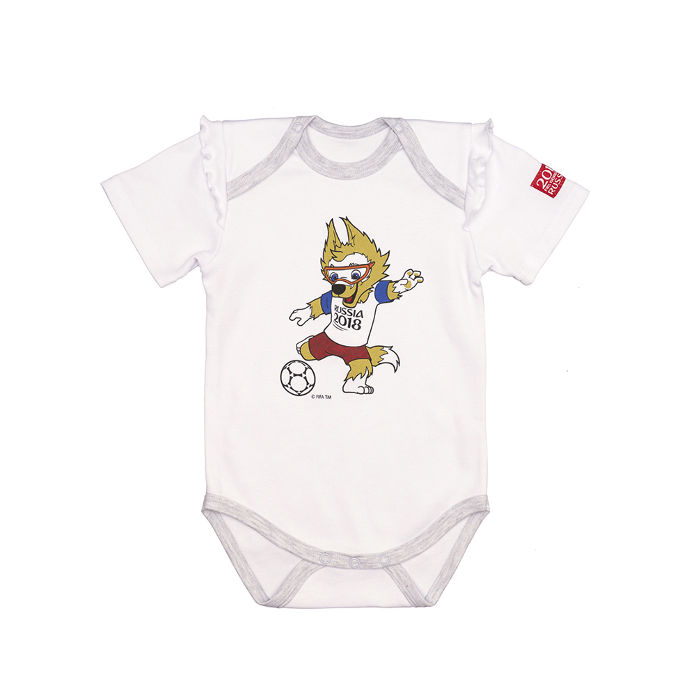 Bodysuits FIFA WORLD CUP RUSSIA 2018 for girls F1-19D Newborns Babies Baby Children clothes
