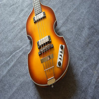 Darmowa dostawa! najwyższa Jakość Niższa Cena Hofner Skrzypce Ikona Serii Vintage Sunburst gitara Basowa Gitara Elektryczna w Magazynie 4 struny basu
