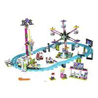 LEPIN 1024 Pcs Amis Série 3D Blocs de Construction Parc D'attractions Rouleau Côte 41130 Mini Briques BRICOLAGE Jouets Pour Enfants D'anniversaire