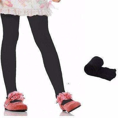 Kids-Girls-Baby-Soft-Pantyhose-Tights-Stockings-Ballet-Dance-Velvet-SML-5