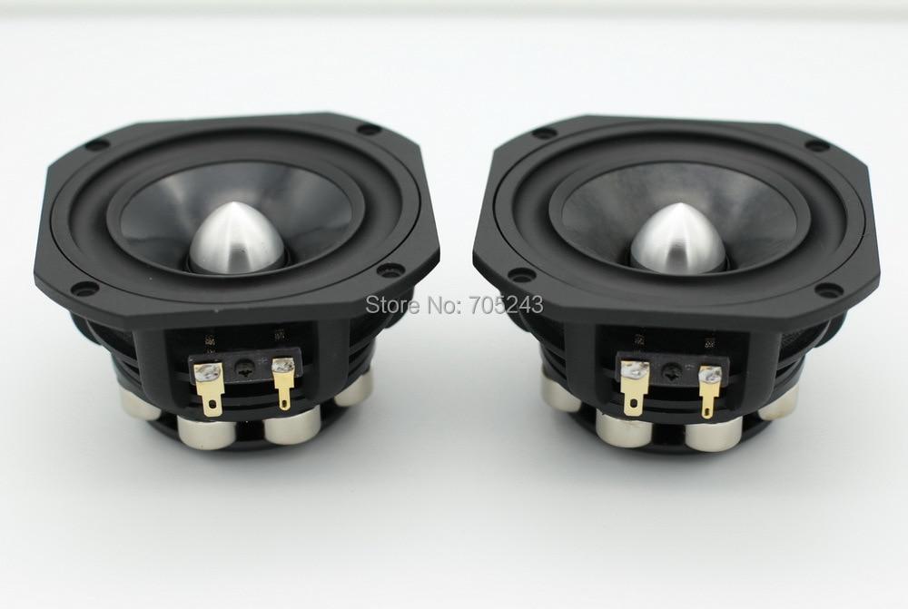 Paire HiEND 4 pouces NEO aimant gamme complète full range haut-parleur PK lowther et fostex 8ohm 50 W livraison gratuite