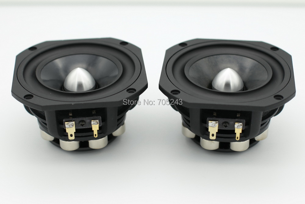 pair HiEND 4inch NEO magnet full range fullrange speaker PK lowther & fostex 8ohm 50W free shipping