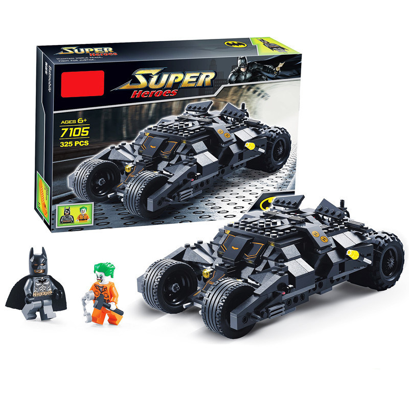 [Bainily] Super-helden Batman Race Truck Auto Modell Technik Baustein SetS DIY Spielzeug Kompatibel Mit LegoINGly Batman