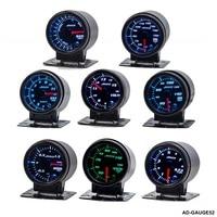 Car gauge/meter 12V 52mm/2 inches 7 Colors Universal Car Auto Tachometer Gauge LED With Sensor and Holder AD GAUGE52 AF