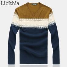 Шерстяной мужской свитер, однотонный пуловер с рисунком, v-образный вырез, роскошный мужской джемпер, одежда мужская рубашка, Sueter, большие размеры, M-8XL, J100