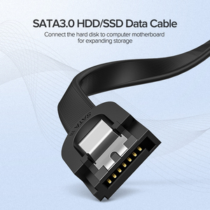 Ugreen SATA Kabel 3,0 zu Festplatte SSD HDD Sata 3 Gerade Rechts-winkel Kabel für Asus MSI gigabyte Motherboard Kabel Sata