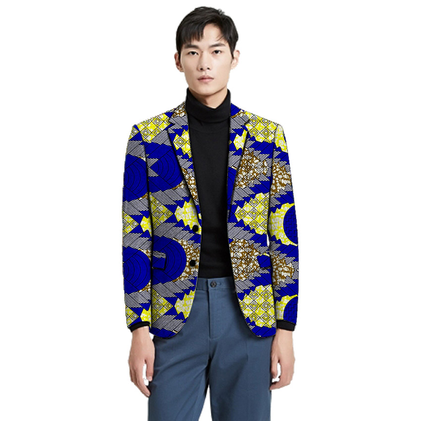 2019 Custom Made Men Blazer Dashiki Print Formal Suit Jacket For African PartyWedding Man'S Ankara Outfit Fashion African Coat From Hermanw, $78.02 |
