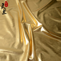 Quality spandex gold four sides elastic gold bronzier cloth costume gold
